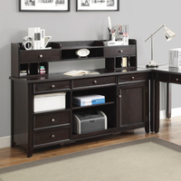 Coaster Furniture - 801192H - HUTCH (DARK BROWN)