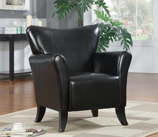 Coaster Furniture 900253 - Accent Chair (Black)