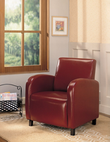 Coaster Furniture 900335 - Accent Chair (Red)