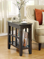 Coaster Furniture 900990 - Chairside Table (Cappuccino)