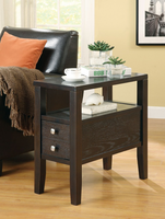 Coaster Furniture 900991 - Chairside Table (Cappuccino)