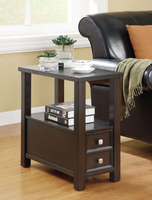 Coaster Furniture 900992 - Chairside Table (Cappuccino)