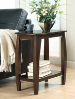 Coaster Furniture 900994 - Chairside Table (Cappuccino)