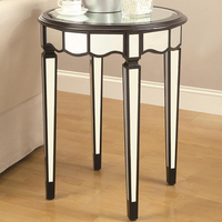 Coaster Furniture 901038 - Accent Table (Black)