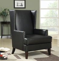 Coaster Furniture - 902078 - ACCENT CHAIR (BLACK)