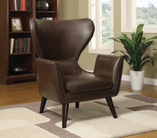 Coaster Furniture 902089 - Accent Chair (Brown)