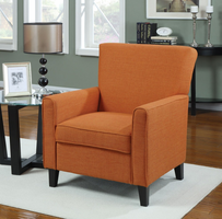 Coaster Furniture - 902094 - ACCENT CHAIR (ORANGE)