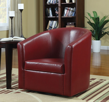 Coaster Furniture - 902099 - SWIVEL CHAIR (RED)