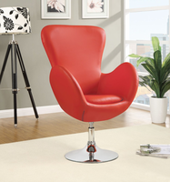 Coaster Furniture 902101 - Swivel Chair (Red)