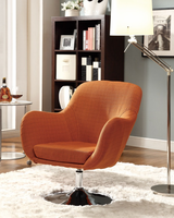 Coaster Furniture - 902148 - SWIVEL CHAIR (ORANGE)