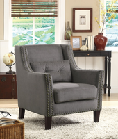 Coaster Furniture - 902170 - ACCENT CHAIR (GREY)