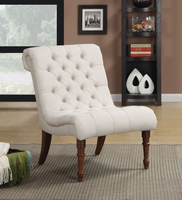 Coaster Furniture - 902176 - ACCENT CHAIR (OATMEAL)
