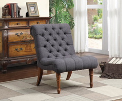 Coaster Furniture - 902217 - ACCENT CHAIR (CHARCOAL GREY)