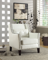Coaster Furniture - 902225 - ACCENT CHAIR (WHITE)