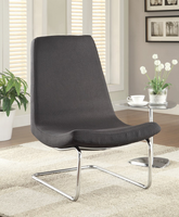 Coaster Furniture - 902247 - ACCENT CHAIR (BLACK)