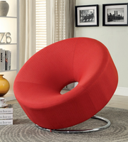 Coaster Furniture - 902252 - ACCENT CHAIR (RED)