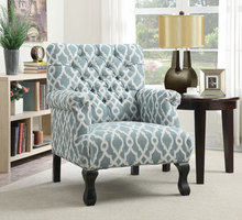 Coaster Furniture - 902406 - ACCENT CHAIR (VINTAGE BLUE)
