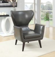 Coaster Furniture - 902409 - ACCENT CHAIR (CHARCOAL)
