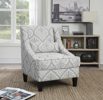 Coaster Furniture - 902412 - ACCENT CHAIR (GREY)