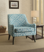 Coaster Furniture - 902479 - ACCENT CHAIR (BLUE)