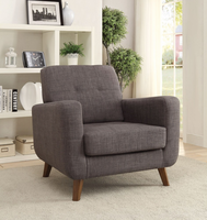 Coaster Furniture - 902481 - ACCENT CHAIR (GREY)