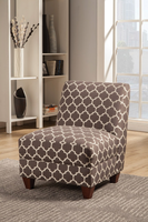 Coaster Furniture - 902528 - ACCENT CHAIR (GREY/WHITE)