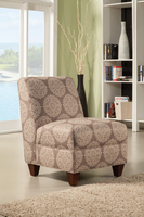 Coaster Furniture - 902533 - ACCENT CHAIR (BROWN/LIGHT BROWN)