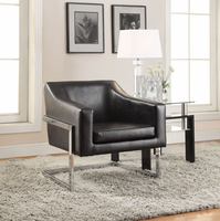 Coaster Furniture - 902538 - ACCENT CHAIR (BLACK)