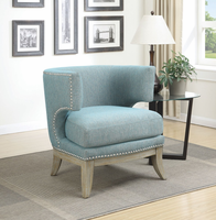 Coaster Furniture - 902558 - ACCENT CHAIR (BLUE)
