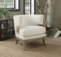 Coaster Furniture - 902559 - ACCENT CHAIR (WHITE)
