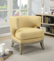 Coaster Furniture - 902562 - ACCENT CHAIR (BUMBLEBEE YELLOW)