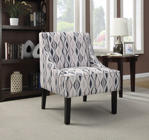 Coaster Furniture - 902603 - ACCENT CHAIR (LIGHT BLUE)