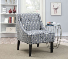 Coaster Furniture - 902604 - ACCENT CHAIR (BLUE)