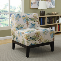 Coaster Furniture - 902614 - ACCENT CHAIR (BLUE/GREEN)