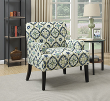 Coaster Furniture - 902622 - ACCENT CHAIR (DARK BLUE)