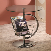 Coaster Furniture 902801 - Accent Table (Chrome)
