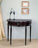 Coaster Furniture 950065 - Entry Table (Cherry)