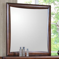 Coaster Furniture 200644 - Hillary Mirror (Warm Brown)