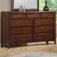 Coaster Furniture 200643 - Hillary Dresser (Warm Brown)