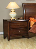 Coaster Furniture 200642 - Hillary Night Stand (Warm Brown)