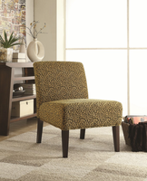 Coaster Furniture 900184 - Accent Chair (Leopard Pattern)