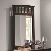 Coaster Furniture 202084 - Tia Mirror (Cappuccino)