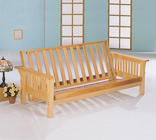 Coaster Furniture 4838 - Futon Frame (Natural)
