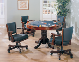 Coaster Furniture 100201 - Game Table (Cherry)