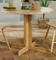Coaster Furniture 4137 - Dining Table (Natural)