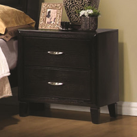 Coaster Furniture 201962 - Nacey Night Stand (Dark Brown)