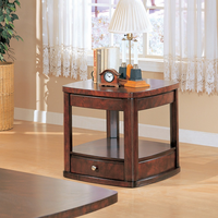 Coaster Furniture 700247 - End Table (Cherry)