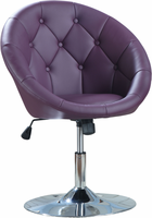 Coaster Furniture 102581 - Swivel Chair (Purple)