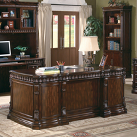 Coaster Furniture 800800 - Desk (Rich Brown)
