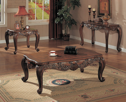Coaster Furniture 700468 - Coffee Table (Deep Brown)